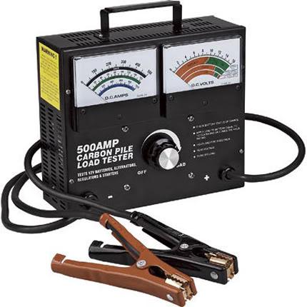 đo tình trạng điện trong acquy